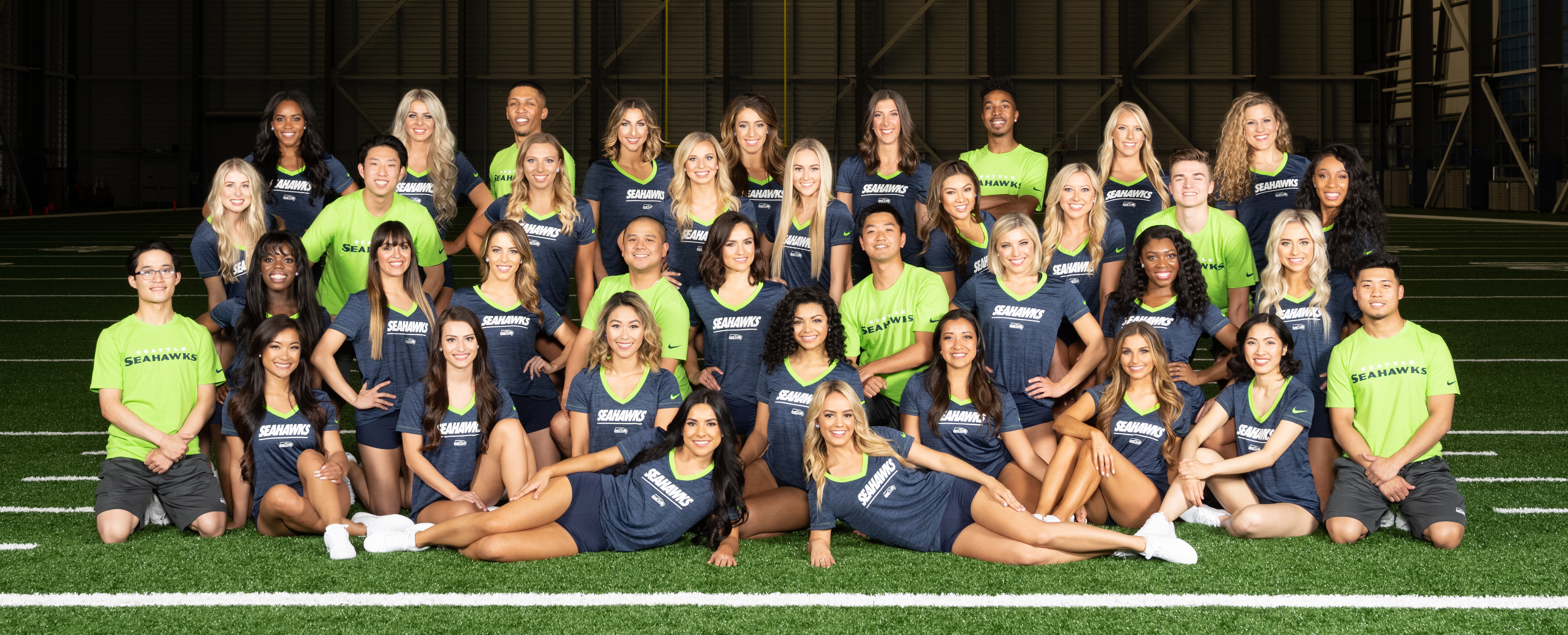 Announcing The Seahawks Dancers