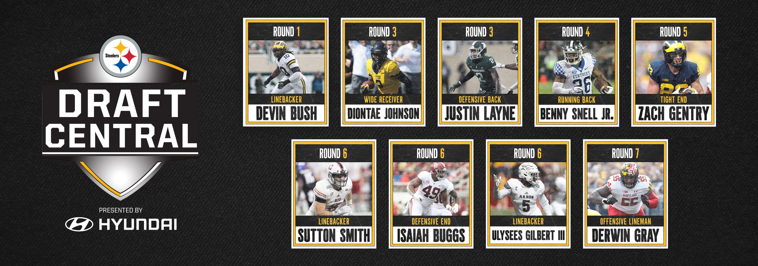 Nfl Draft Pittsburgh Steelers Steelers Com