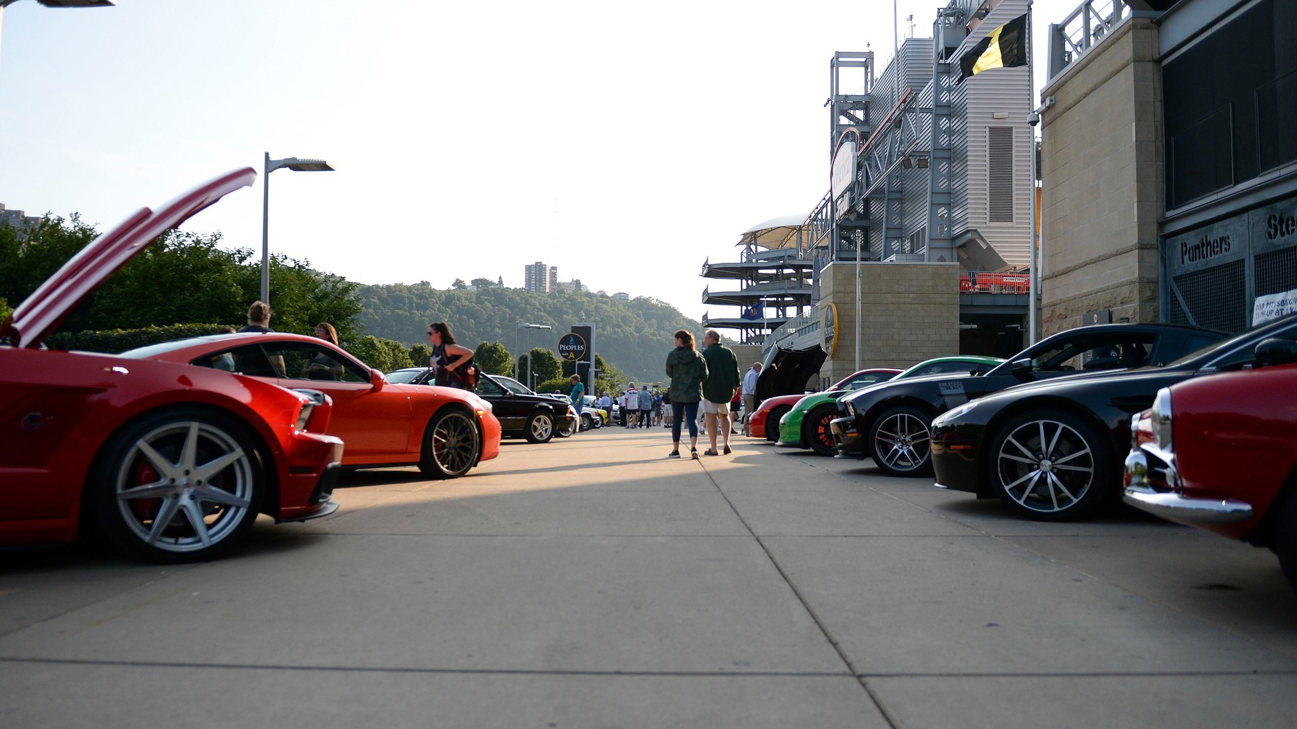 Steelers Nation Unite Car Show