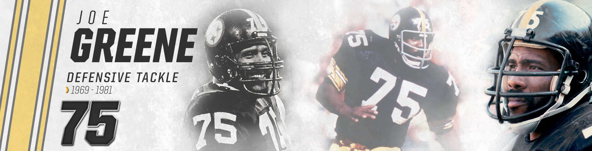 huge discount 42823 0e553 Joe Greene | Pittsburgh Steelers - Steelers.com