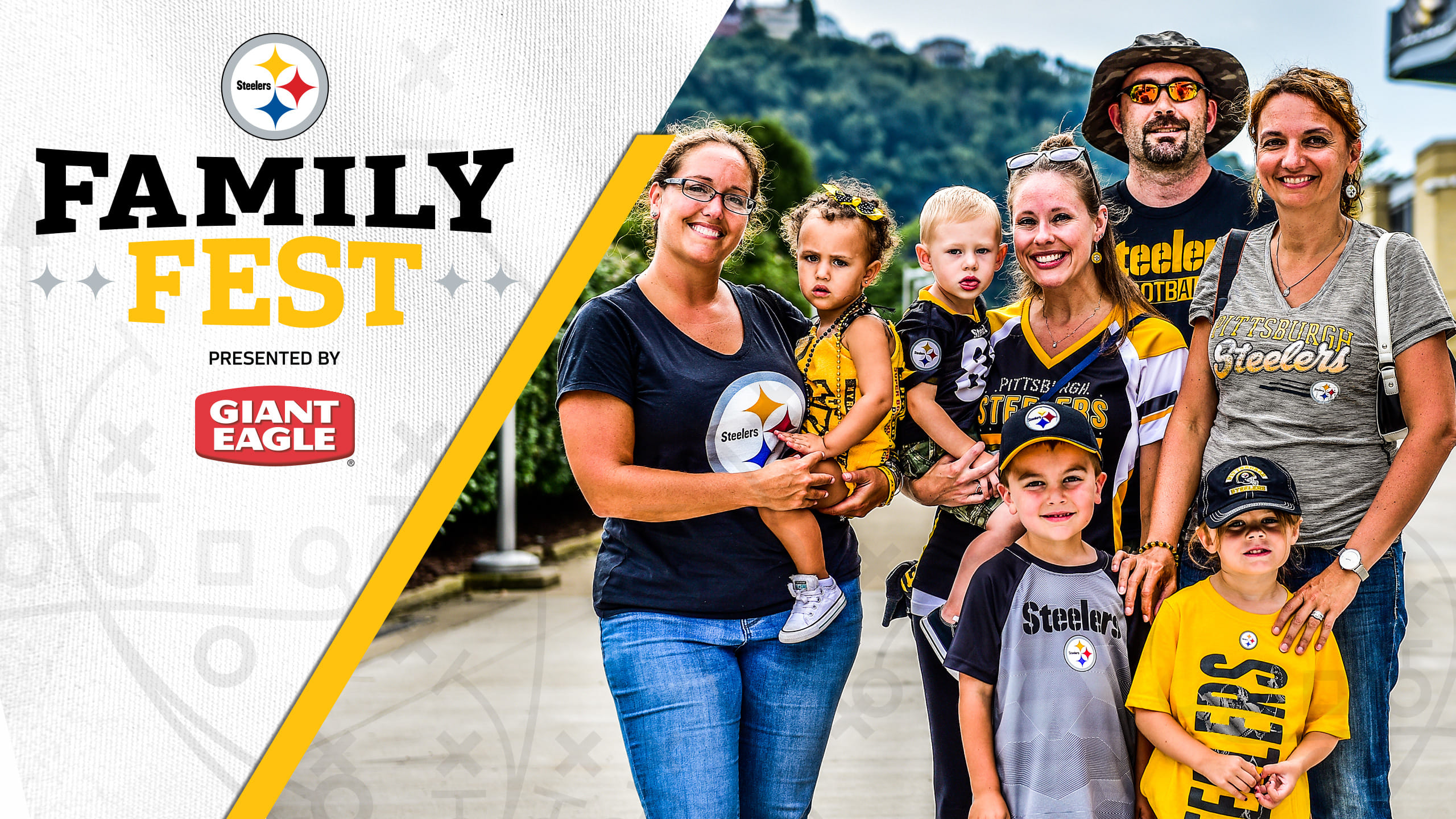 Steelers Family Fest, presented by Giant Eagle