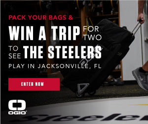 Pack your bags! Win a trip for 2 to see the Steelers play in Jacksonville!