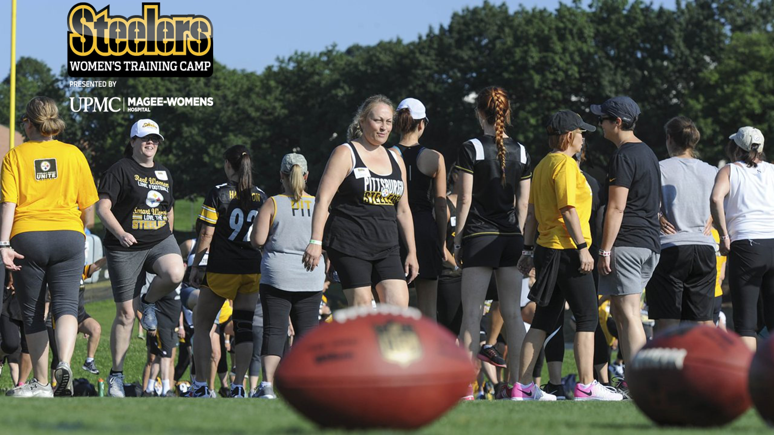 Steelers Women s Training Camp  e8ec10510