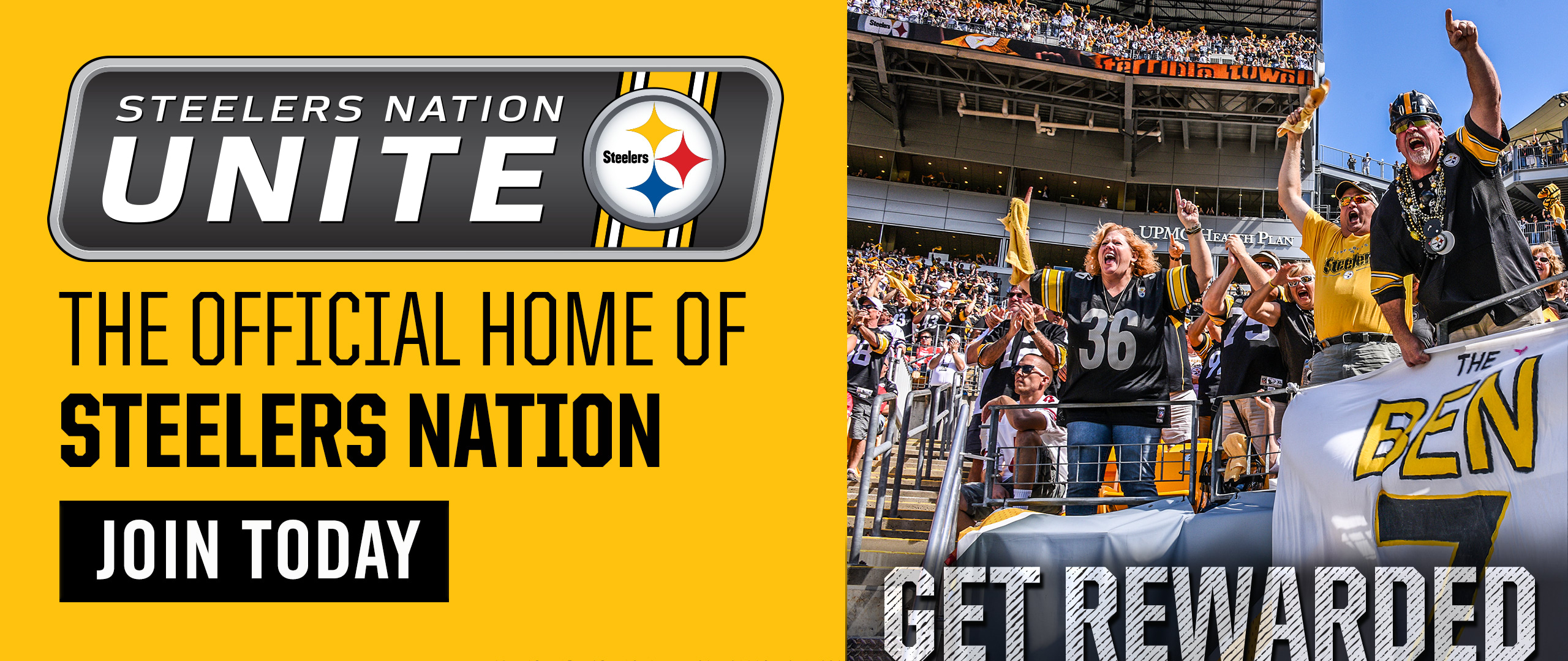 d4340445 Steelers Nation Unite Coming to the Game | Pittsburgh Steelers ...