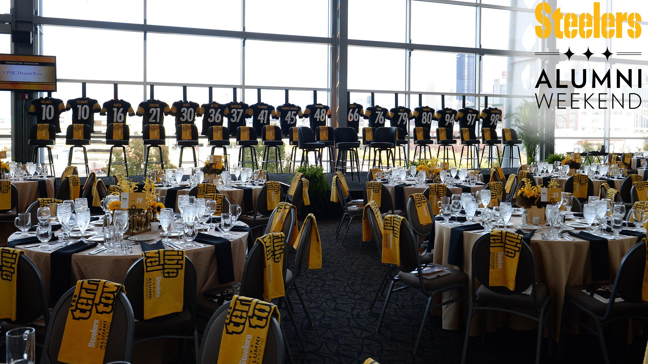 Steelers alumni weekend dinner pittsburgh steelers steelers purchase tickets m4hsunfo