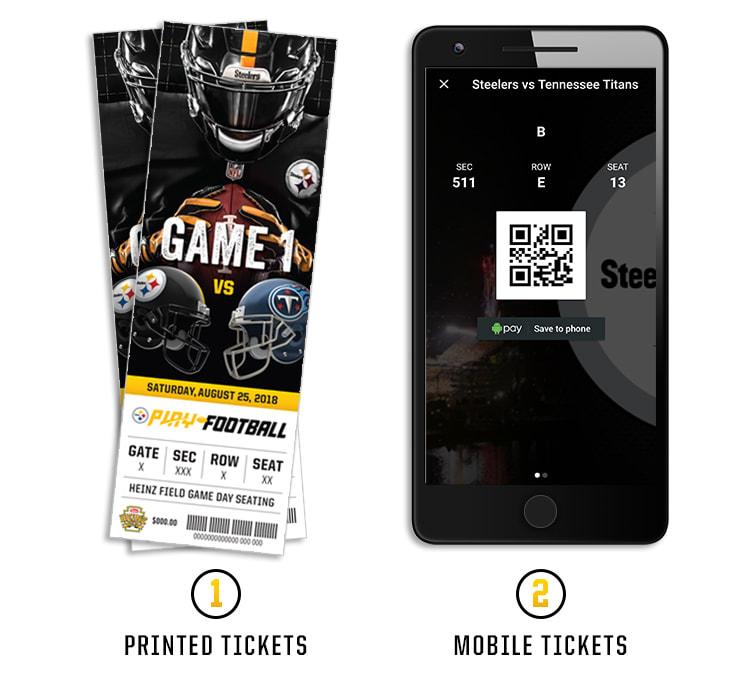 Mobile Ticketing Pittsburgh Steelers Steelers