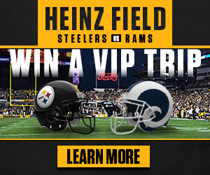 Win a VIP trip to the Steelers vs. L.A. Rams