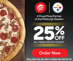 Exclusive Steelers Offer from Pizza Hut!