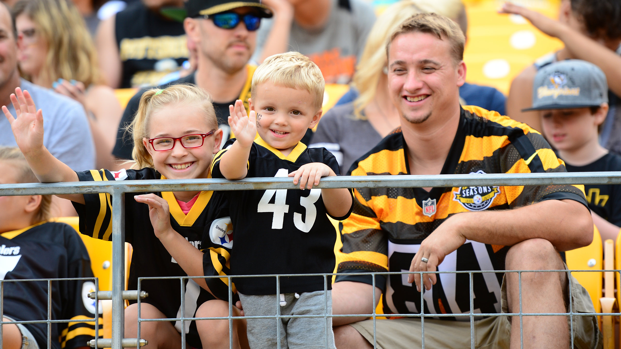 steelers family fest pittsburgh steelers steelers com