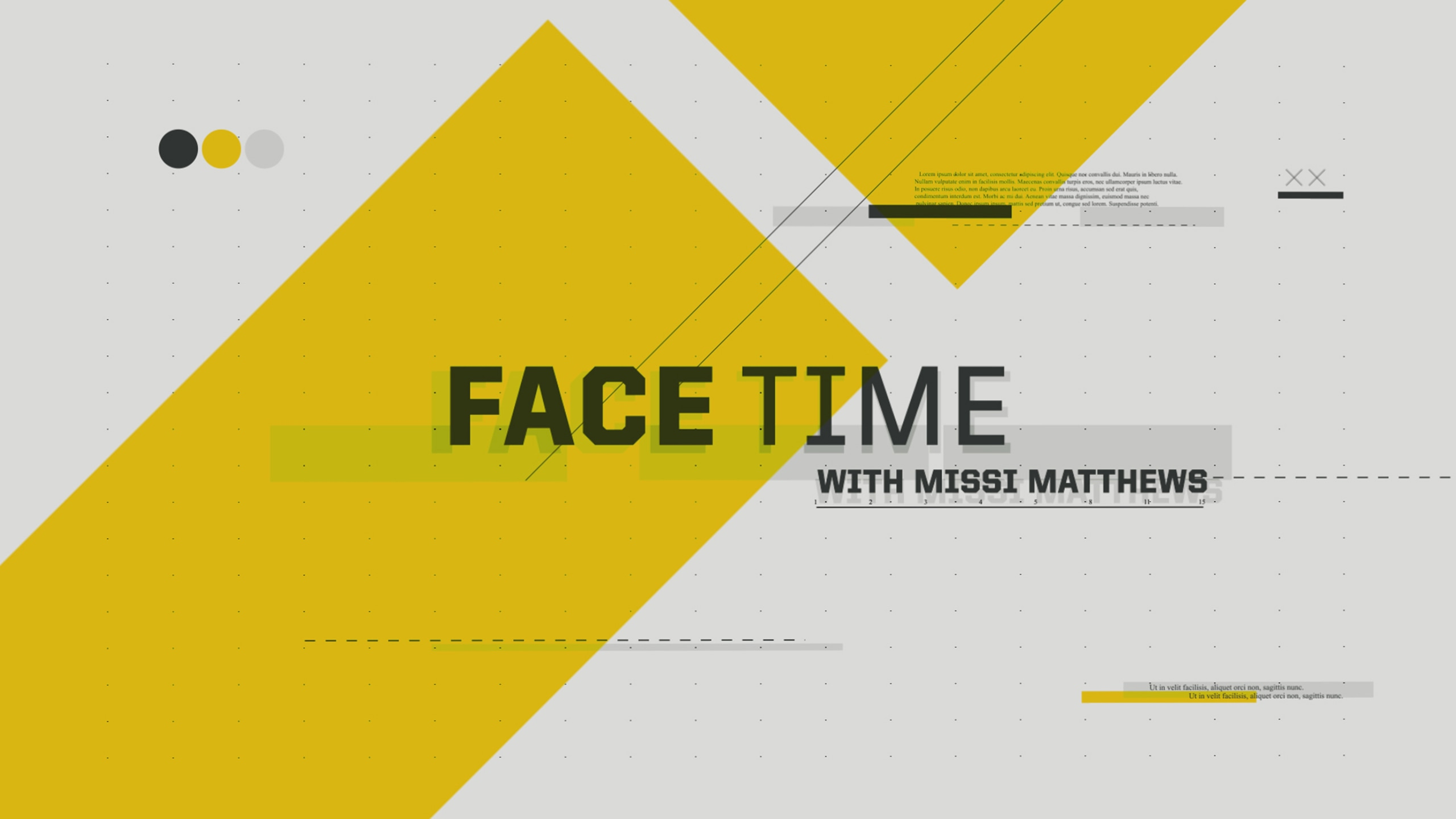 Face Time with Missi Matthews
