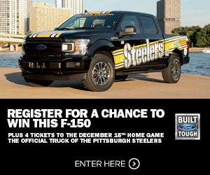 Win the Official Truck of the Pittsburgh Steelers