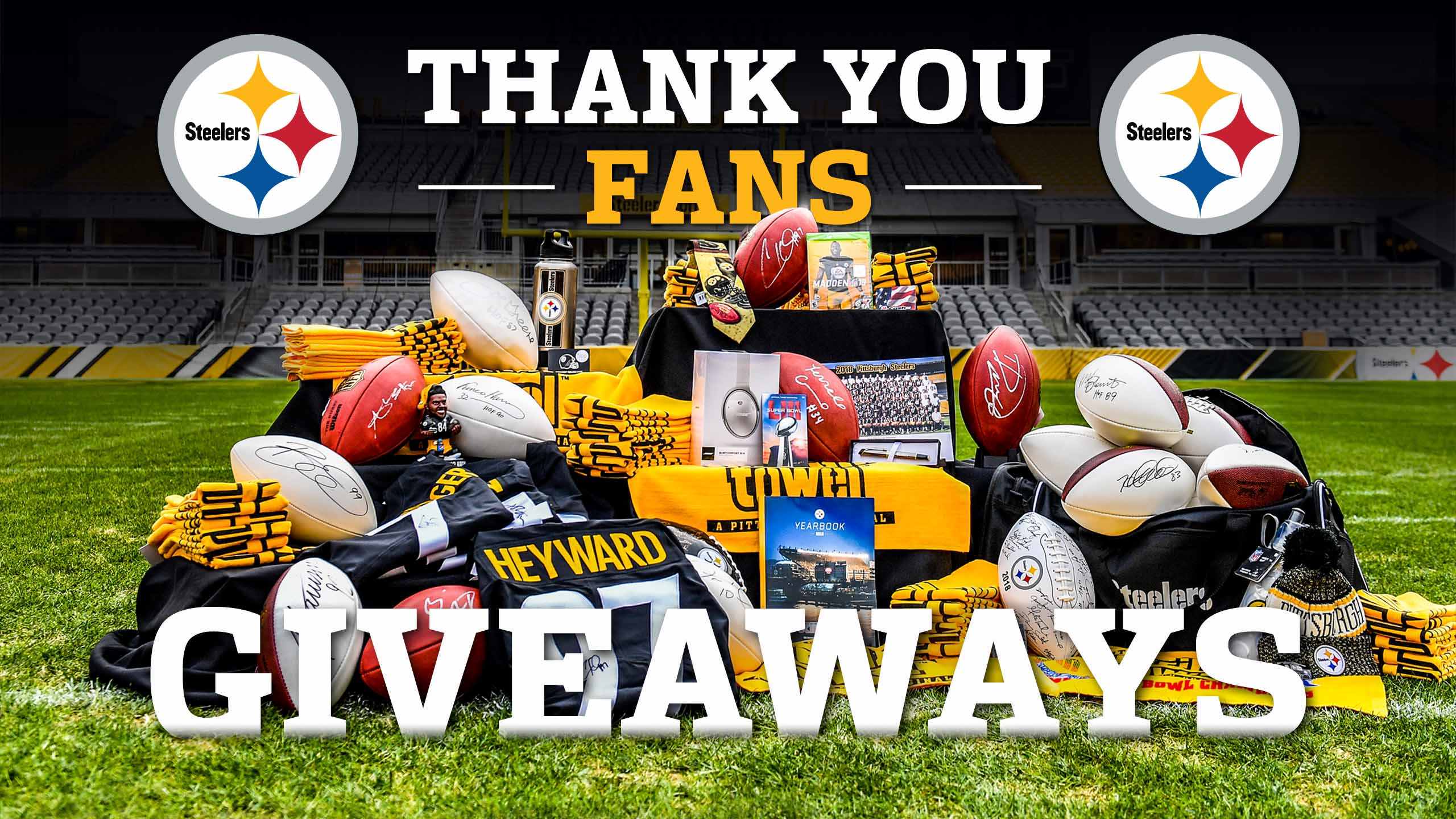 Thank You Fans Giveaways