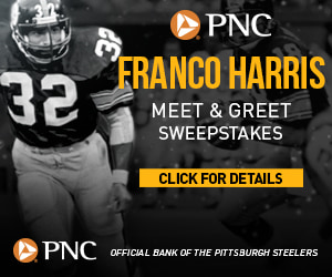 Meet Steelers Legend, Franco Harris with PNC Bank!
