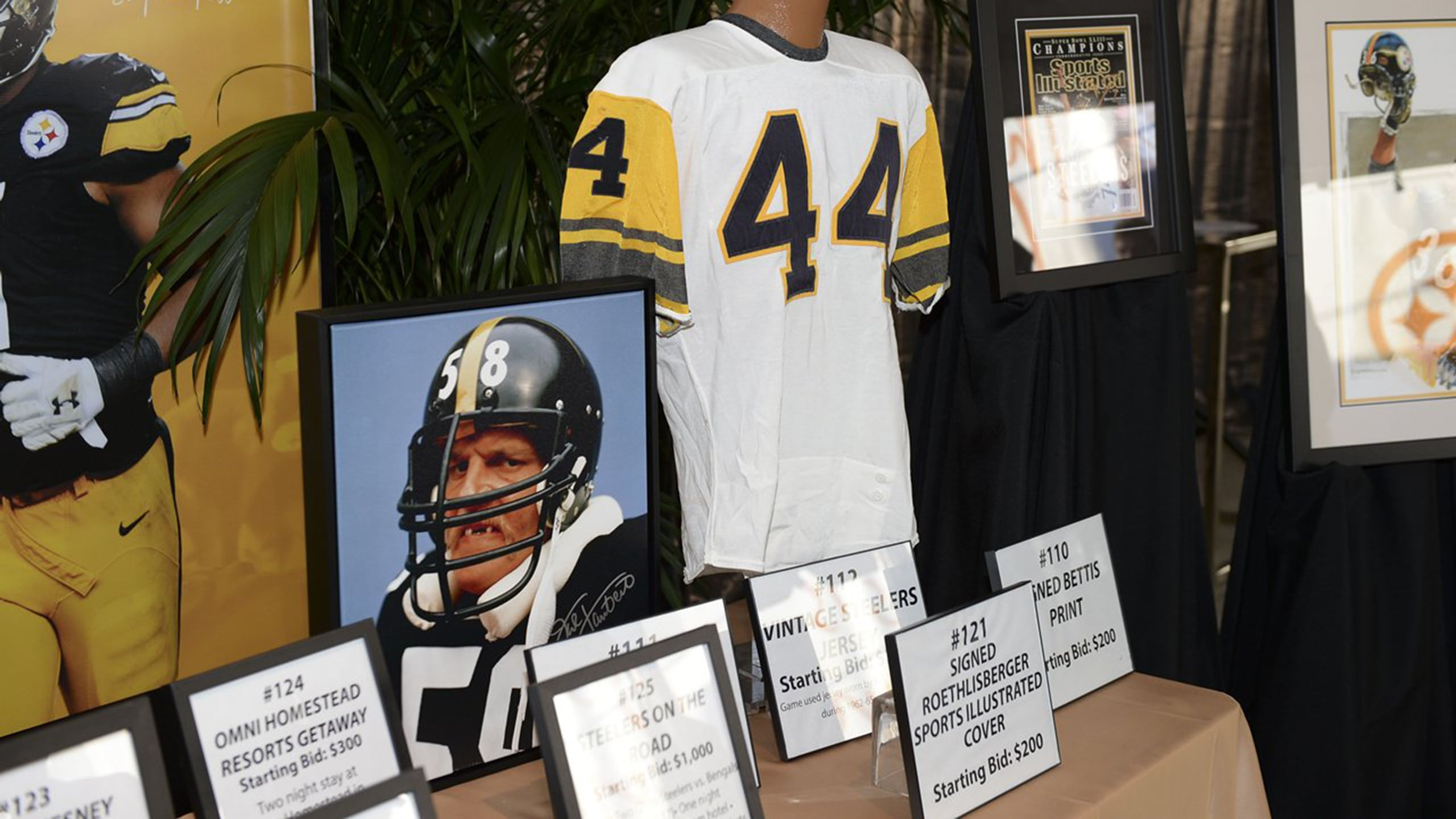 Rock Steelers Style Online Auction
