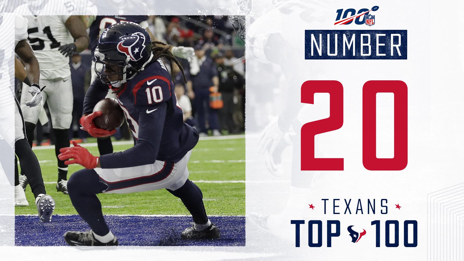 Texans Top 100 Houston Texans Houstontexans Com