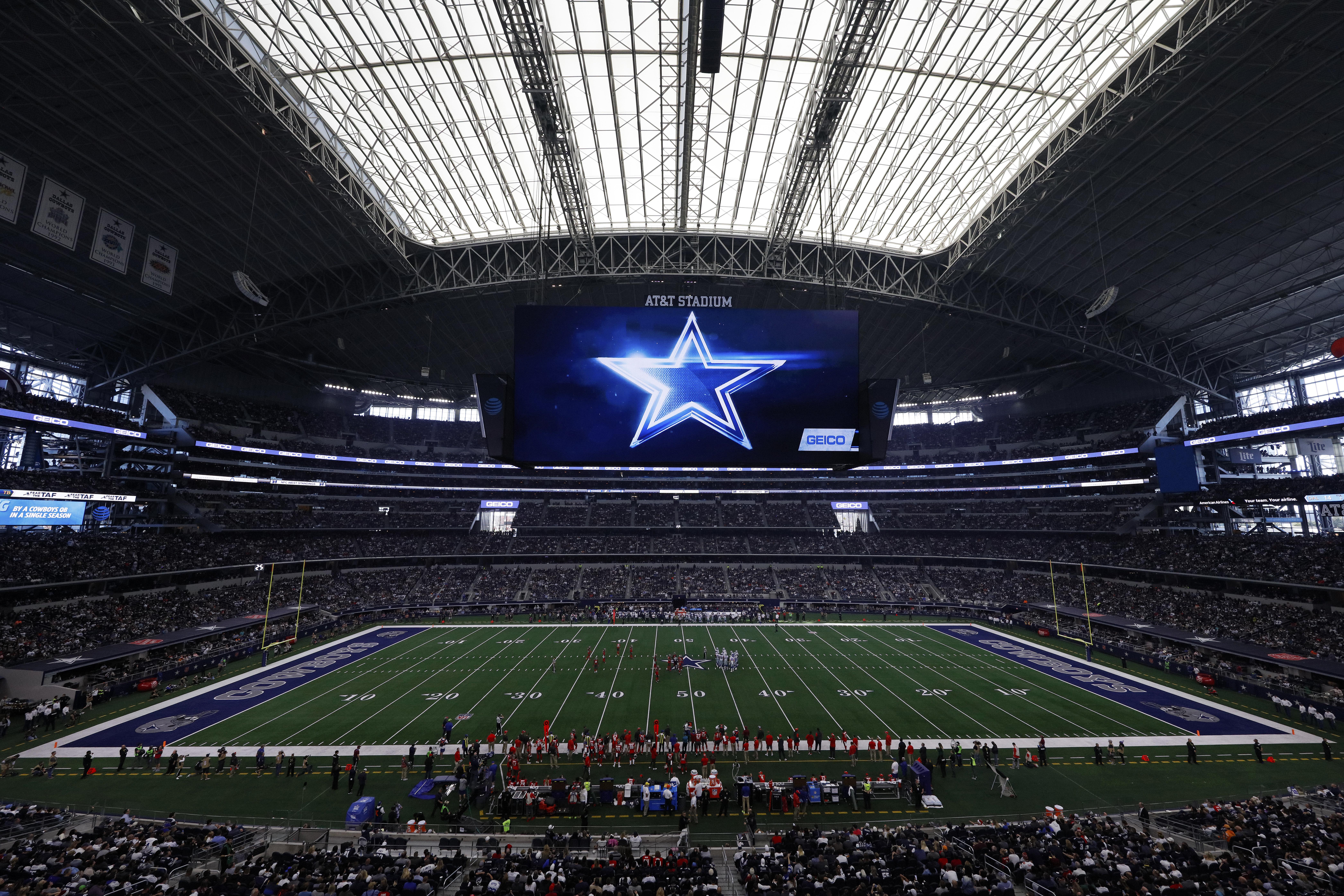 At Dallas Cowboys