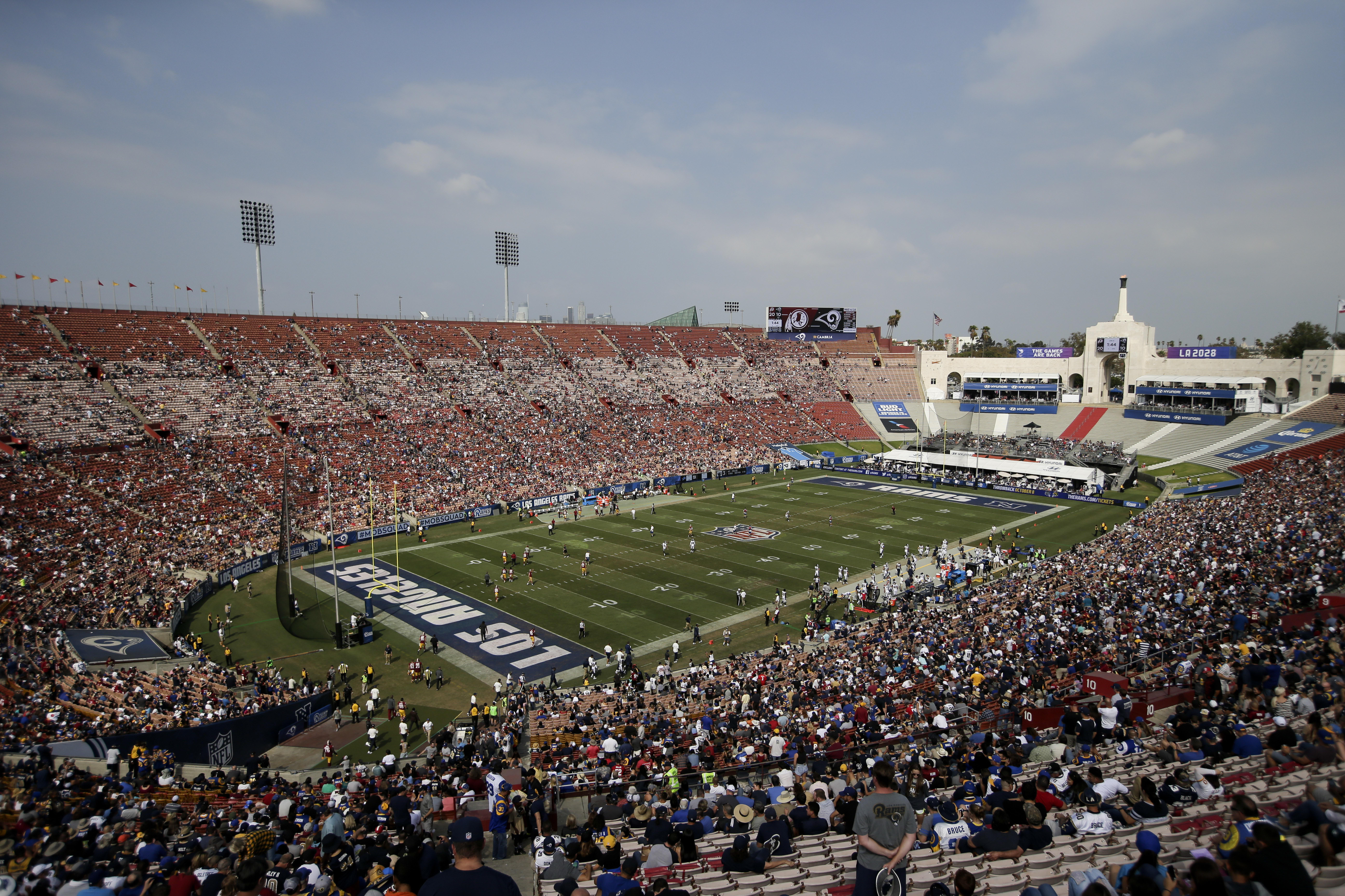 At Los Angeles Chargers