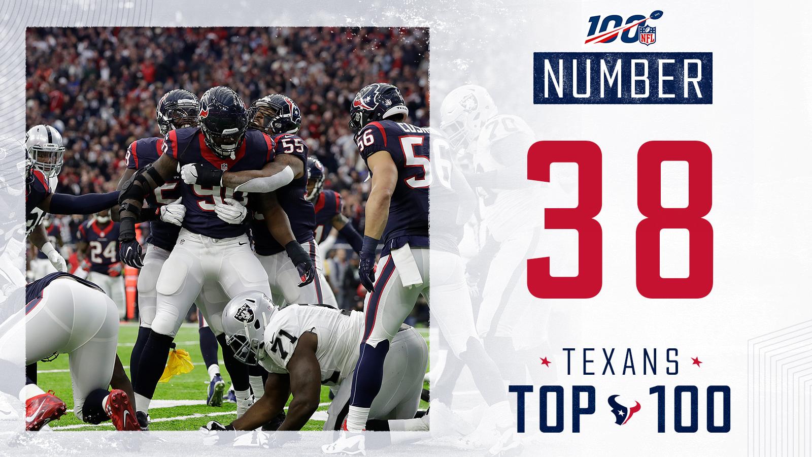 f6d05e41 Texans Top 100 | Houston Texans - HoustonTexans.com