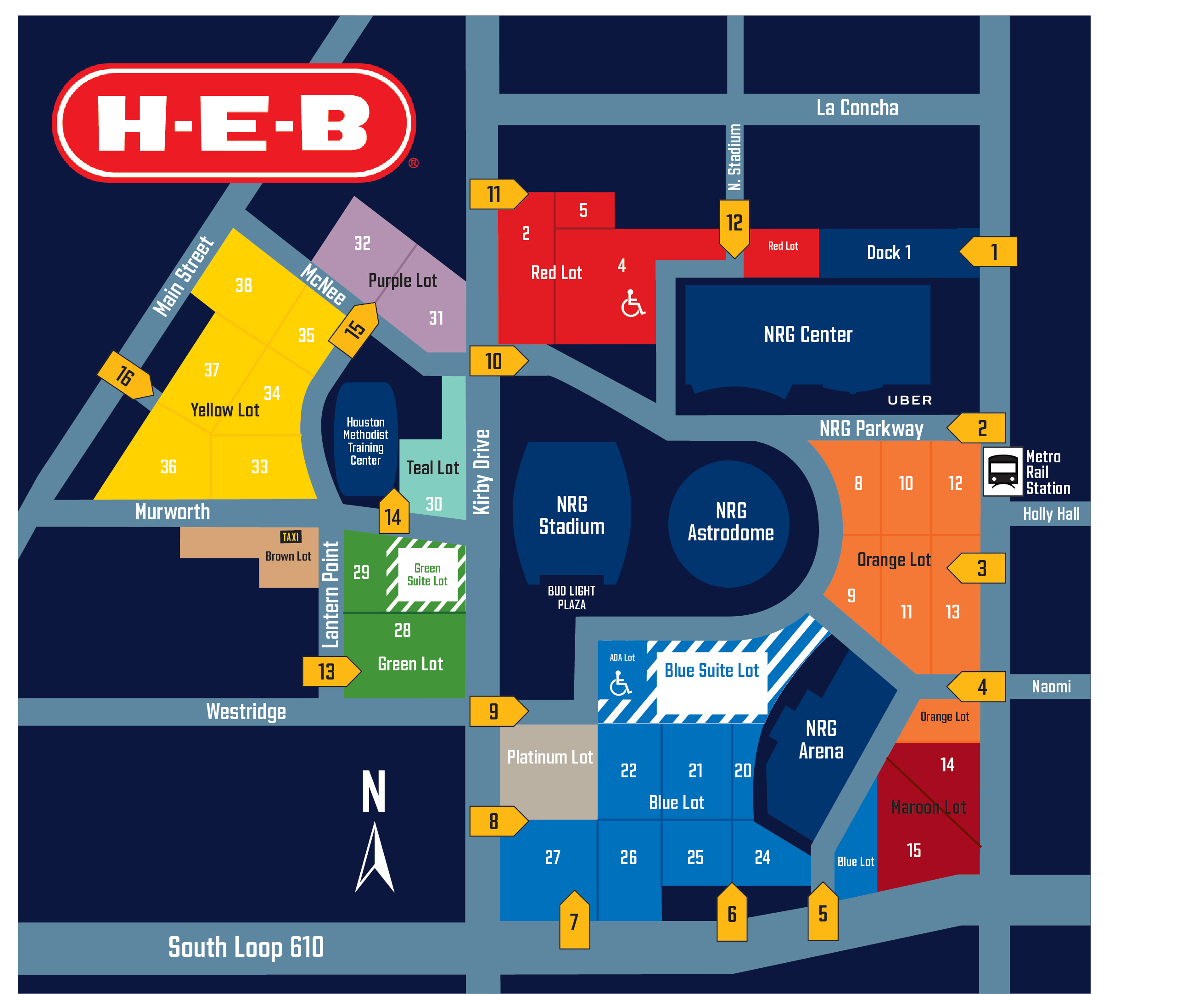 Parking | Houston Texans - HoustonTexans.com
