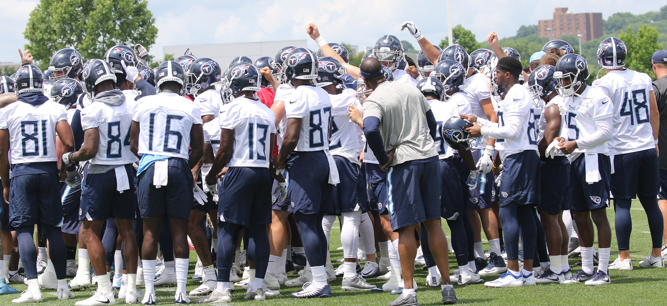 2018 Tennessee Titans Training Camp Open Practice Schedule