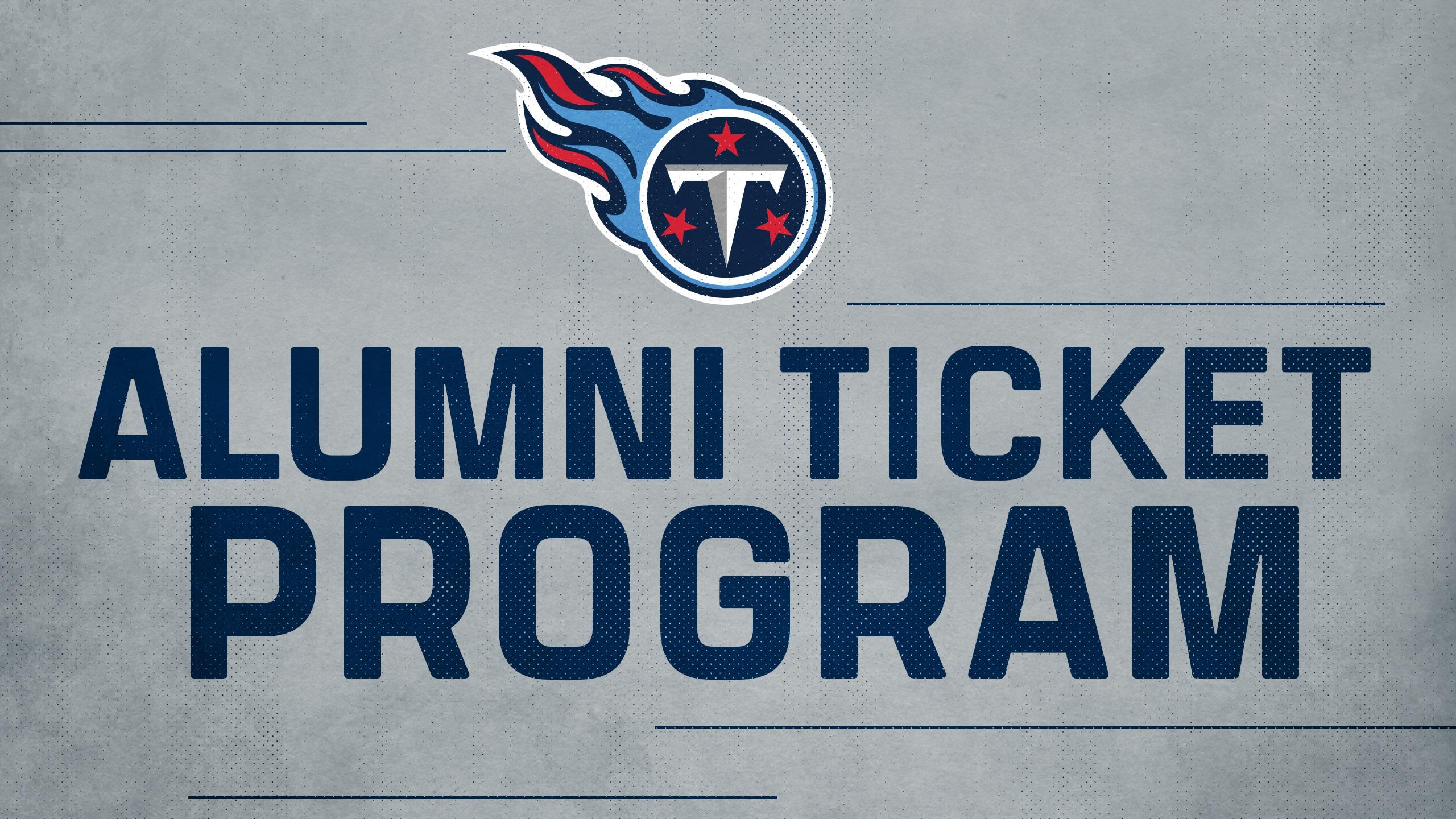 Titans Alumni Ticket Program