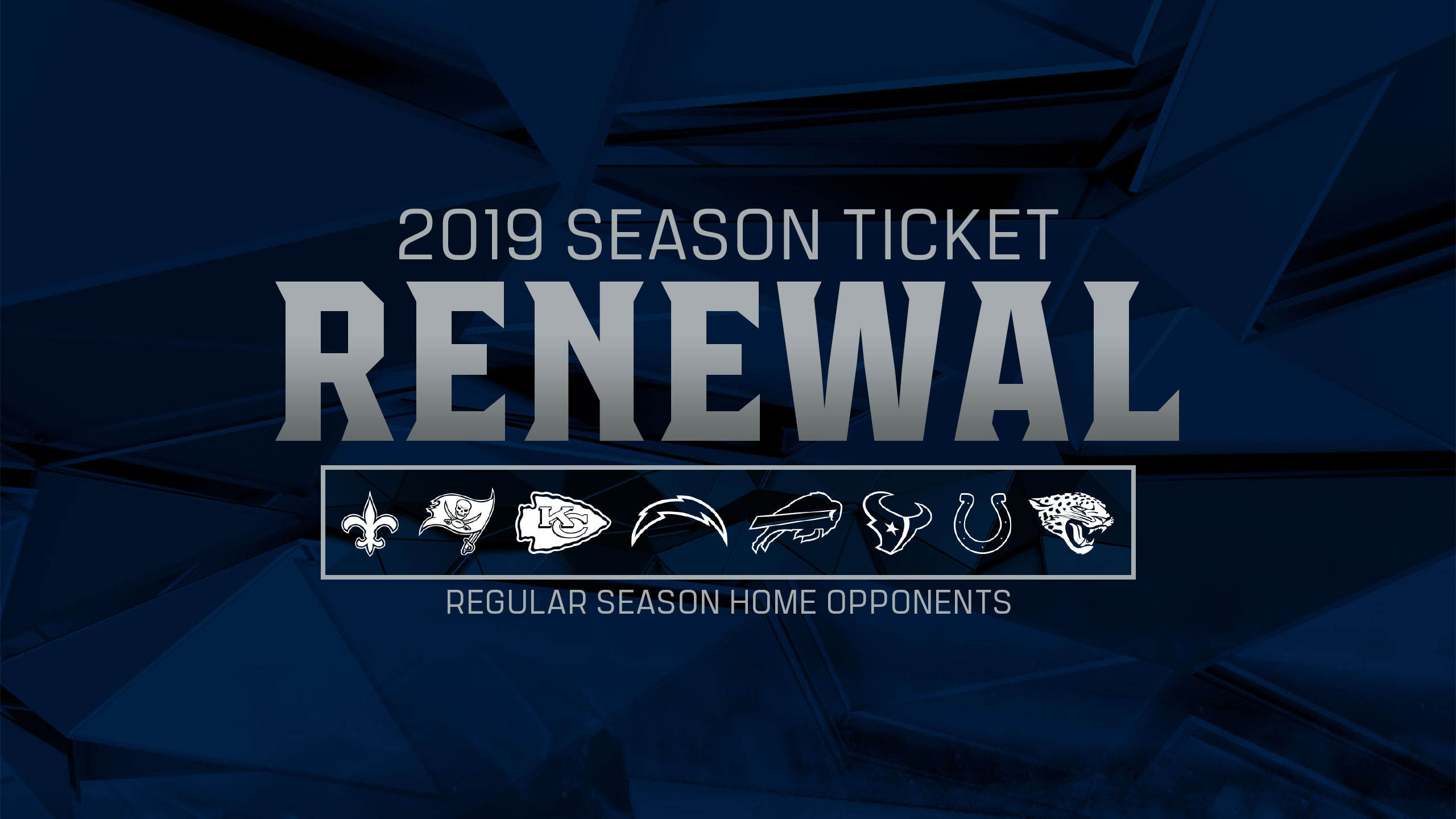 Renew Your Titans Season Tickets Today