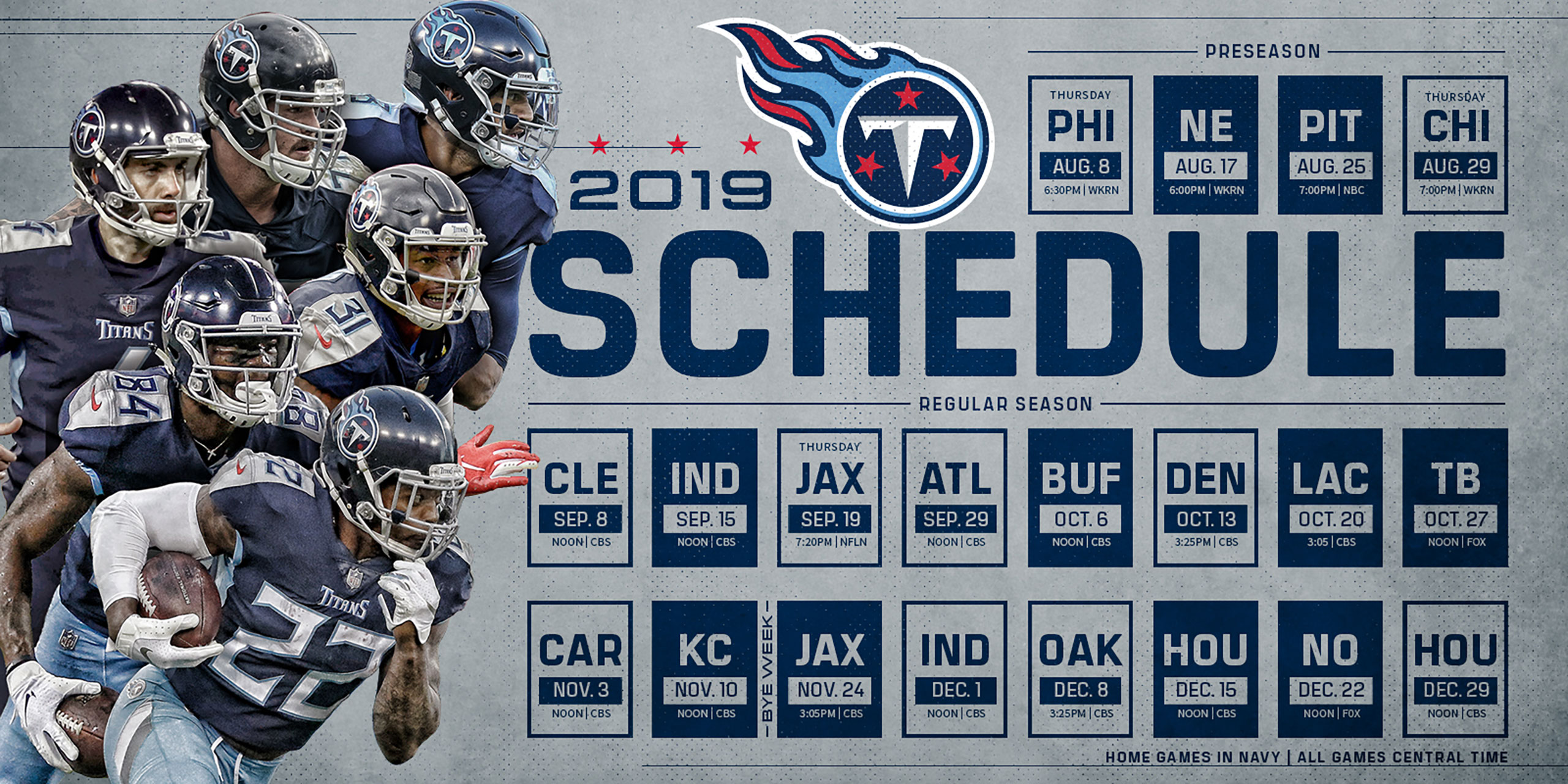 2020 Preseason Football Schedule The Official Site of the Tennessee Titans