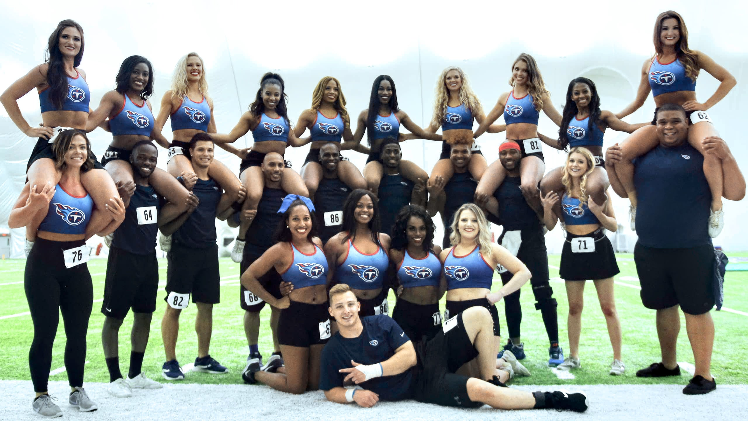 Tennessee Titans Cheerleader Auditions