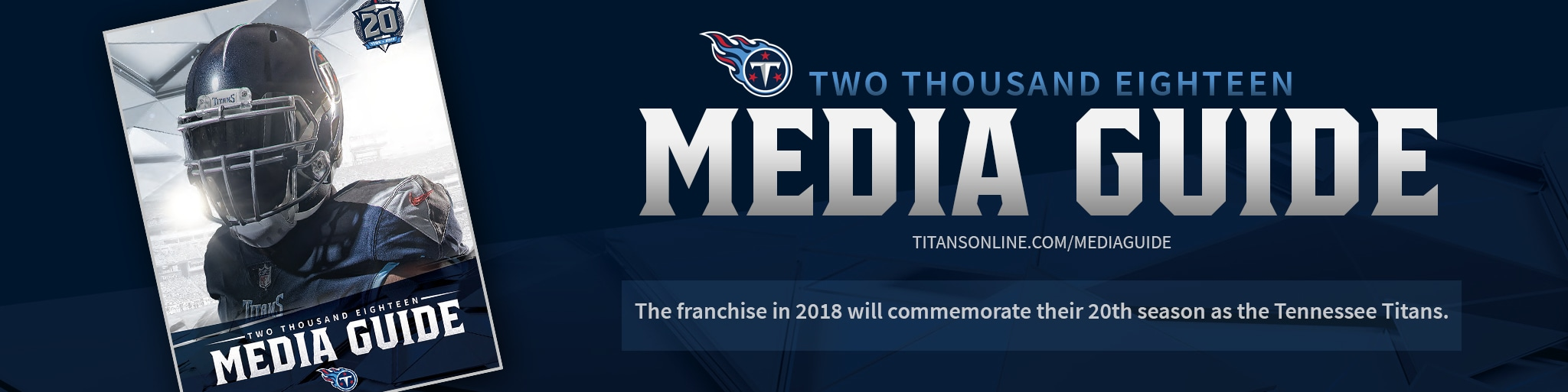 Tennessee Titans 2018 Media Guide