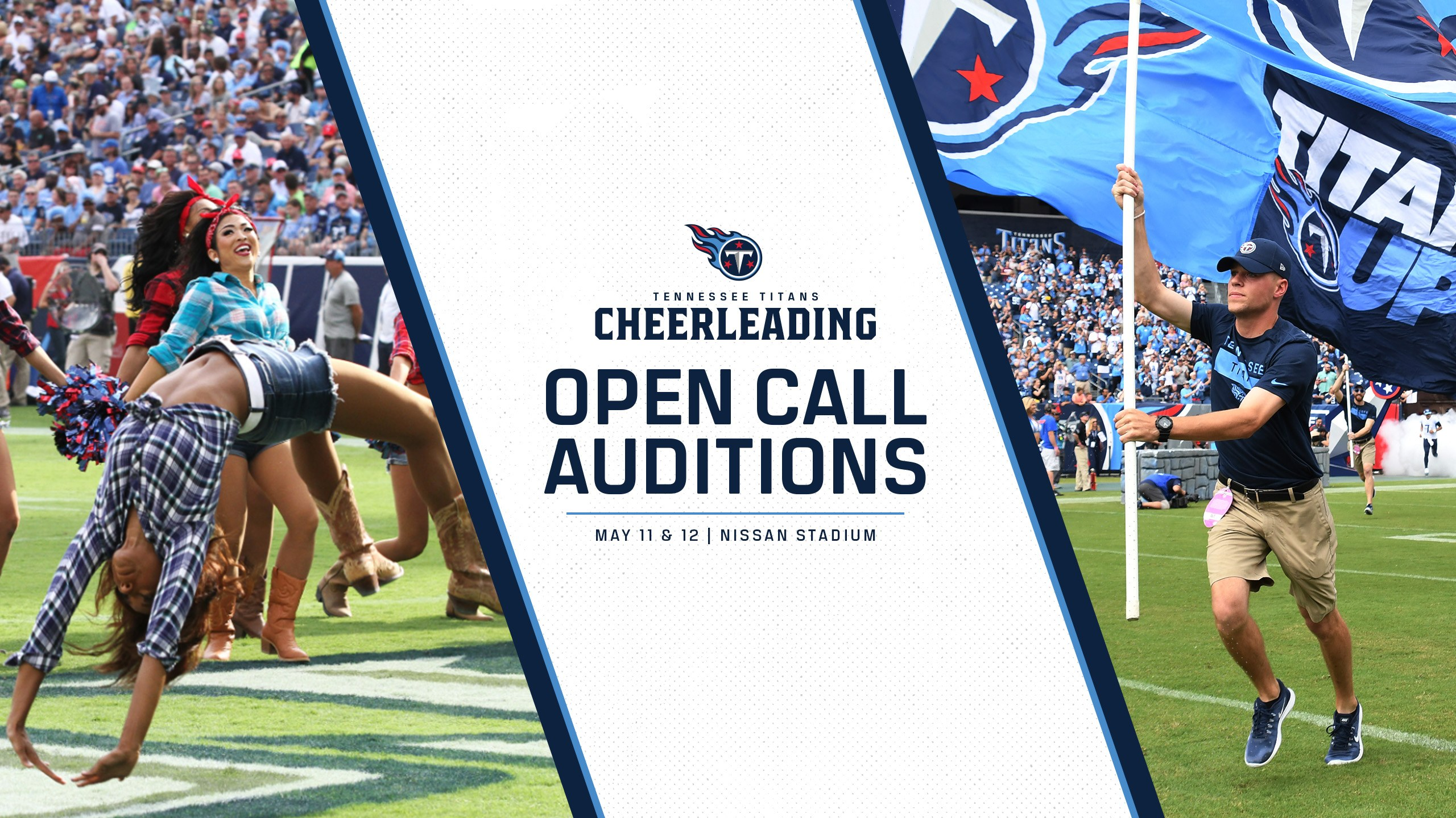 2019 Tennessee Titans Cheerleaders Auditions