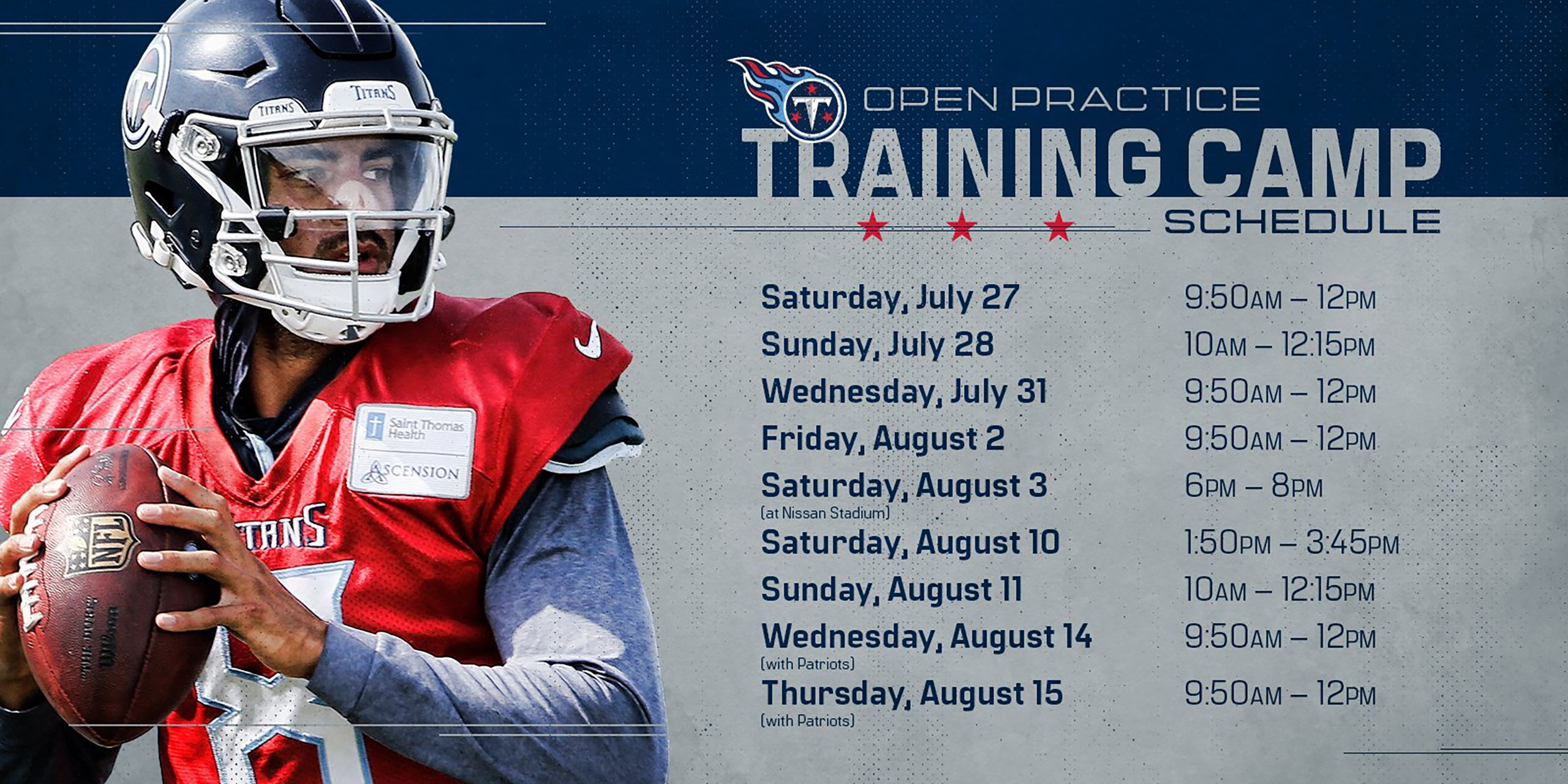 2019 Tennessee Titans Training Camp