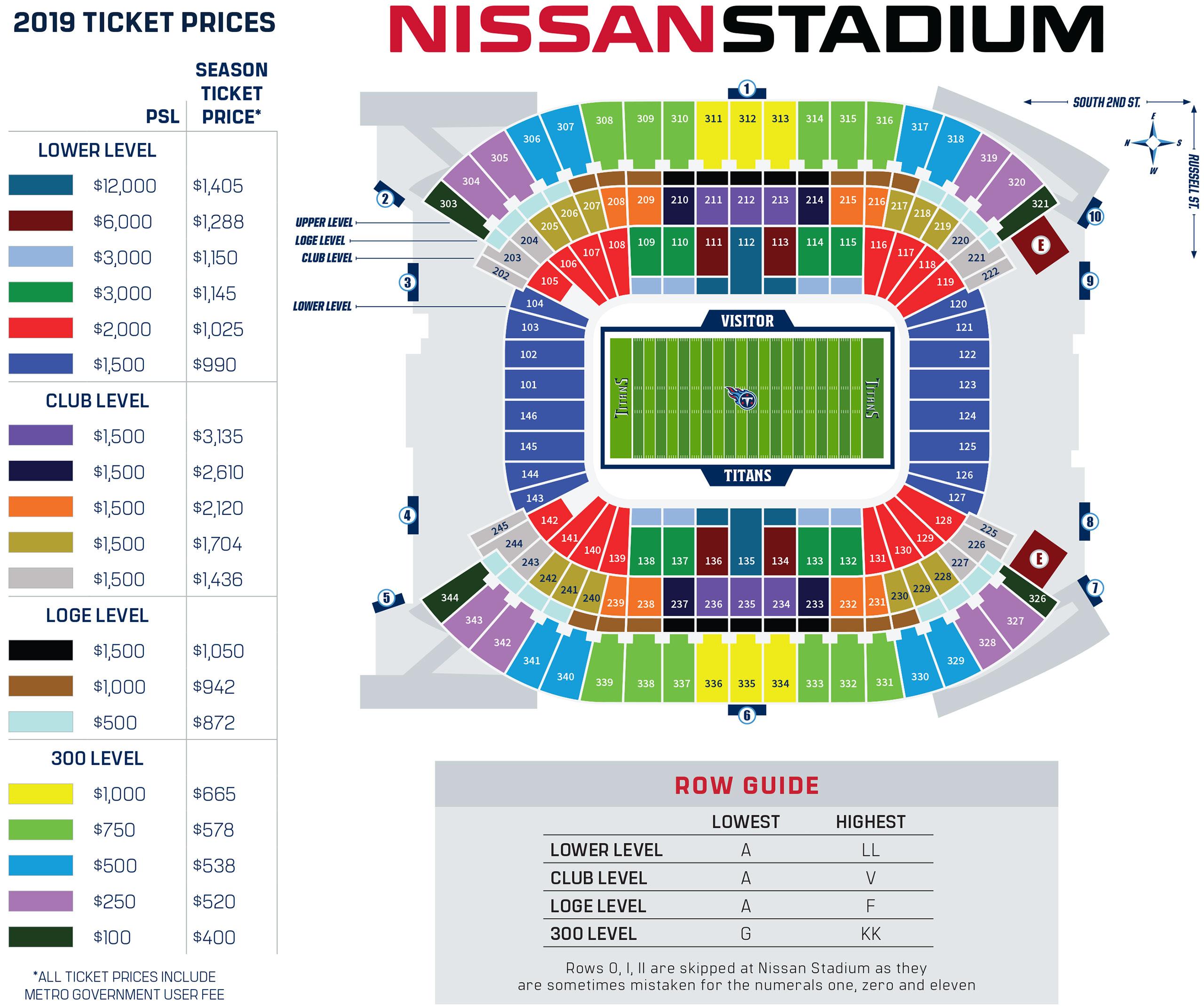 Tennessee Titans Season Tickets Tennessee Titans Titansonlinecom