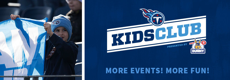 Tennessee Titans Kids Club