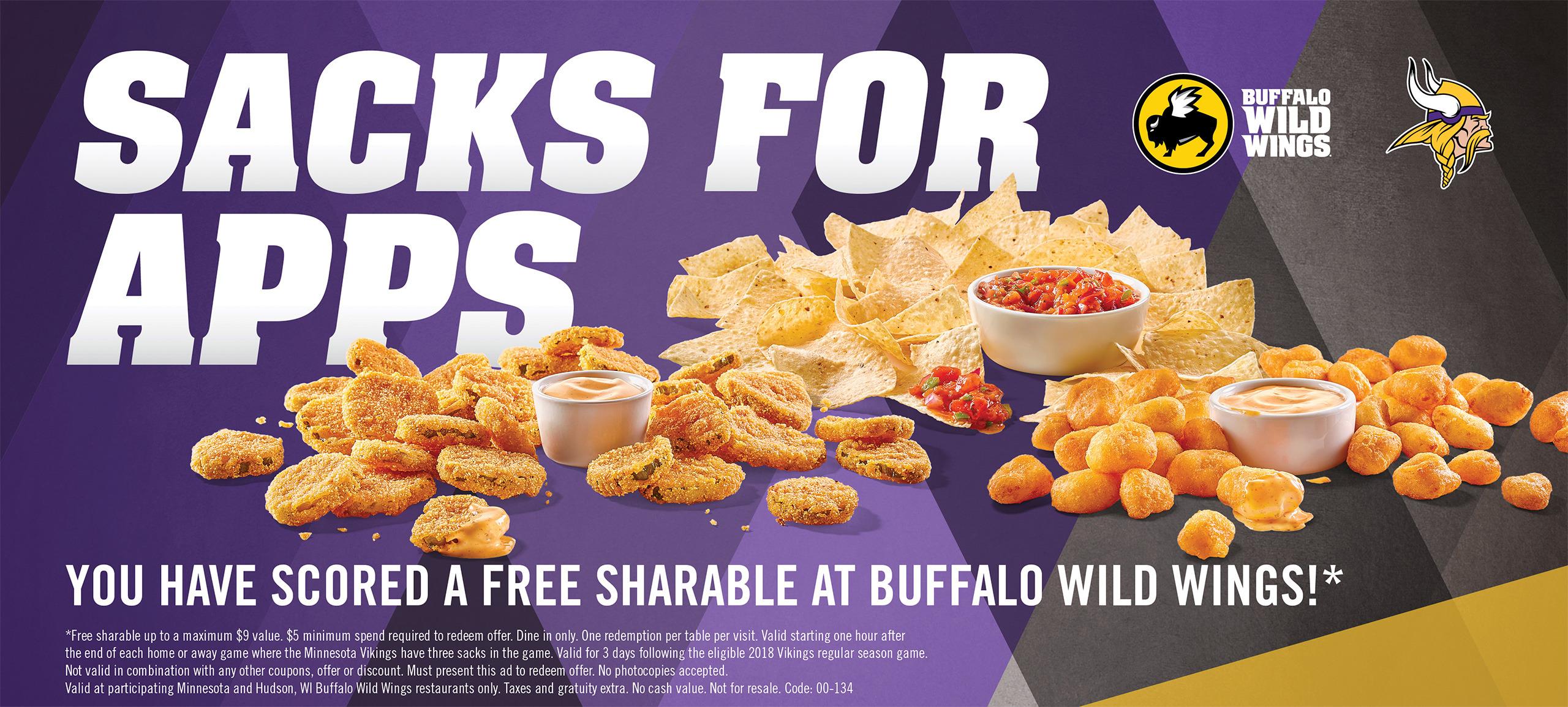 24ef781b Buffalo Wild Wings | Minnesota Vikings – vikings.com