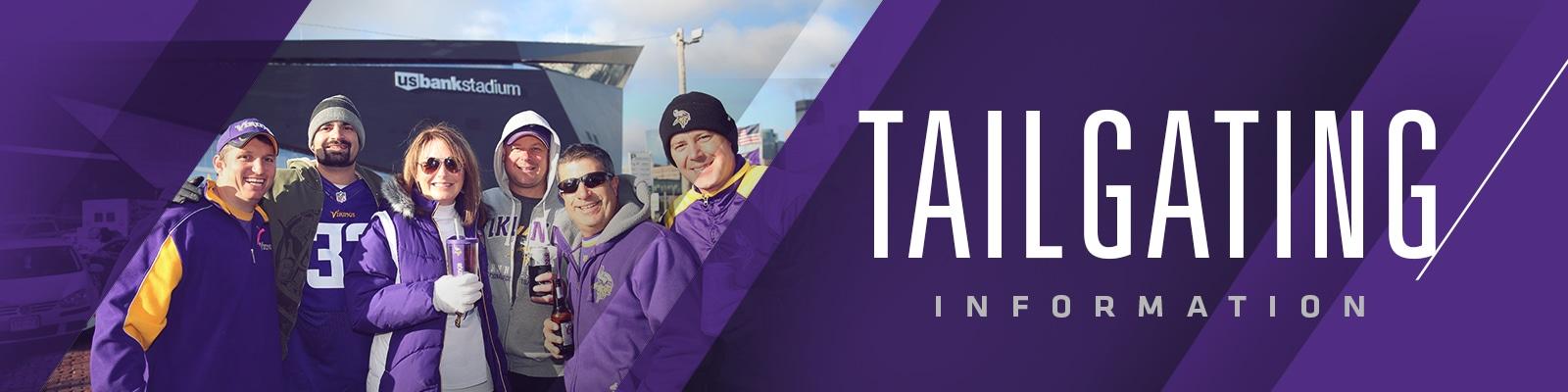 Vikings Tailgating U S  Bank Stadium | Minnesota Vikings