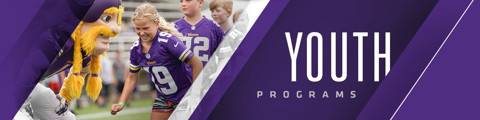 buy popular 6628d 2a76e Vikings Youth Programs | Minnesota Vikings – vikings.com