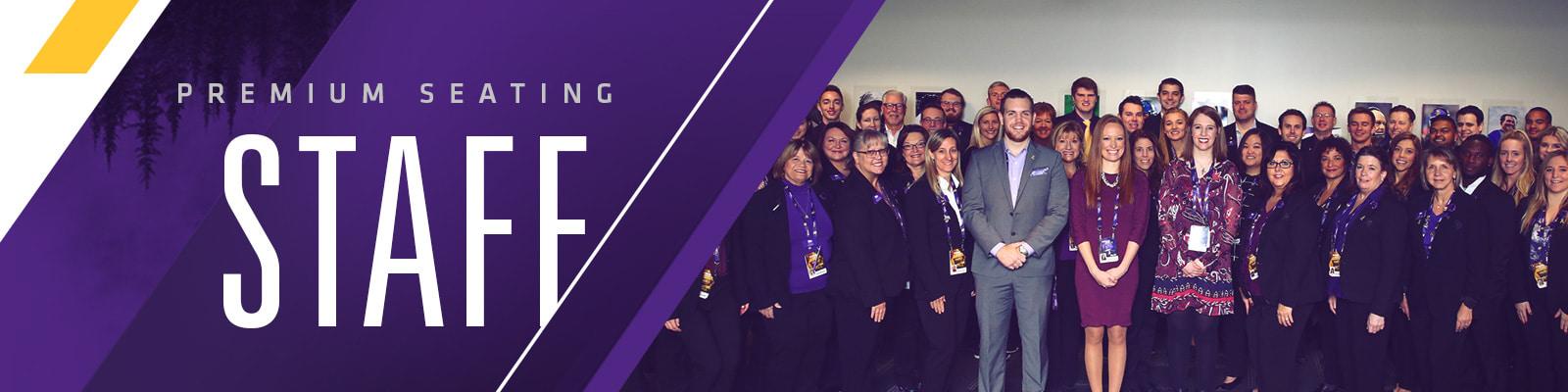U S  Bank Stadium Premium Seating Staff | Minnesota Vikings