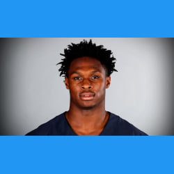 PRO CAREER:   Started in nine and played in all 16 games as a rookie in 2020, finishing as the Bears second leading receiver with 61 catches, 631 yards and four TDs.  Selected in the fifth round of the 2020 NFL Draft (173rd overall) by the Bears HIs 61 receptions as a rookie were second most all-time by a Bears rookie, only behind Matt Forte (63, 2008)  His 61 receptions are tied for fourth most ever by an NFL rookie drafted in the fifth round or later, and the most since Tyreek Hill also had 61 in 2016.    2020 SEASON (Bears)   Had multiple catches in every game this season; had 61 total catches on the season, which finished fifth among NFL rookie WR leaders With his four receptions in Week 15, he broke the record for most receptions by a Bears rookie wide receiver (Harlon Hill, 45 receptions, 1954) His 631 receiving yards were most in a season by a Bears rookie since Willie Gault had 836 in 1983  Had a team season-high 11 receptions in Week 17. 11 receptions are the most by a Bears rookie ever in a game, breaking the previous mark of Ken Margerum (10, 1981).  Caught TDs in consecutive Weeks (14-15); a 12-yard TD in Week 14 and a 8-yard TD in Week 15 Hauled in a 12-yard touchdown in Week 14 vs. Houston Averaged 13.3 yards per catch with 40 yards on three receptions in Week 7 at the Rams Posted a 50-yard reception vs. the Saints in Week 8; with 5 catches for 69 yards and a touchdown Posted five catches for 52 yards (10.4 avg) in Week 4 vs. the Colts Caught three passes for 38 yards (12.7 avg) in his rookie debut in Week 1 at the Lions Caught another three passes for 36 yards in the Week 2 win over the Giants, including a 15-yard touchdown from Mitchell Trubisky in the second quarter