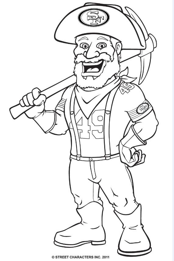 Sf giants coloring pages | 856x571