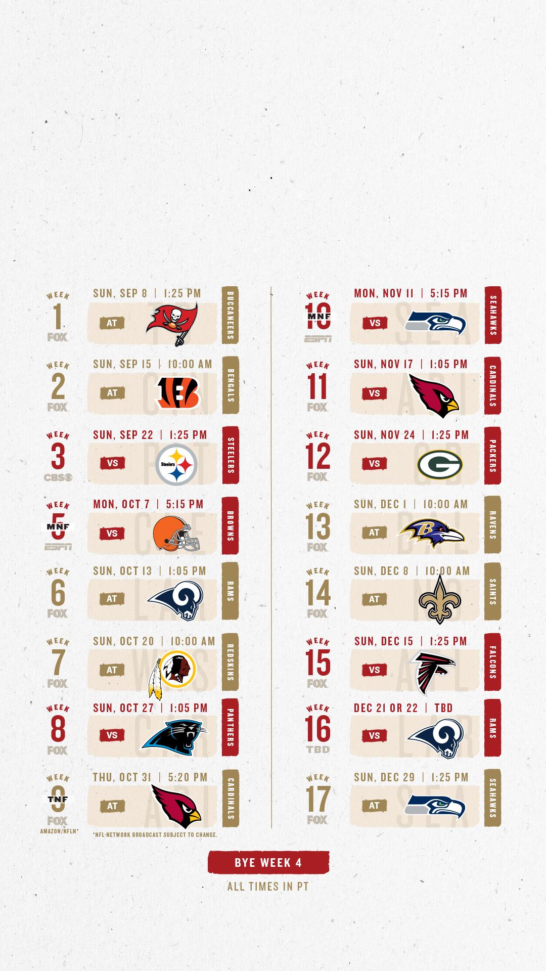 49ers 2020 Schedule.Sf 49ers 2020 Schedule Schedule 2020 Hermanbroodfilm