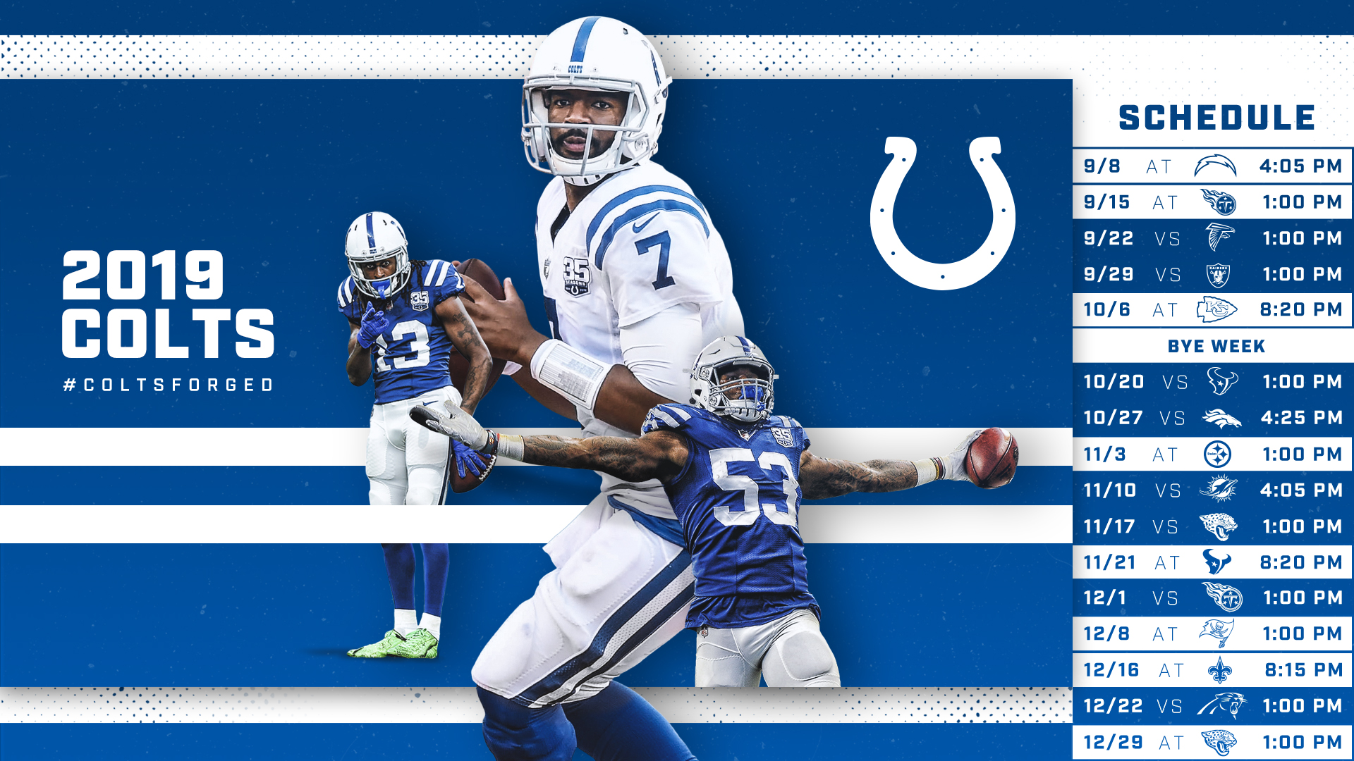 picture about Buffalo Bills Printable Schedule named Indianapolis Colts Program