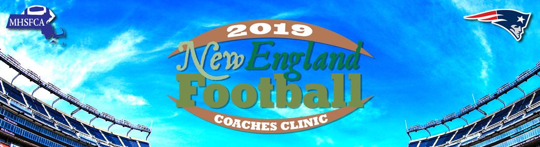 New England High School Football Coaches Clinic 2019