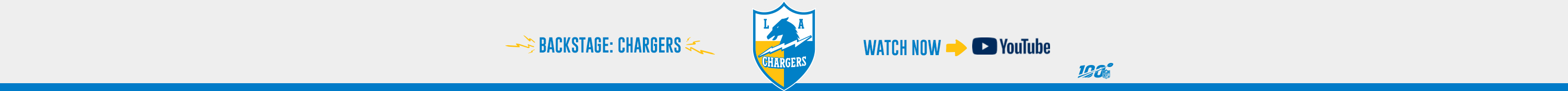 Chargers Announce Roster Moves