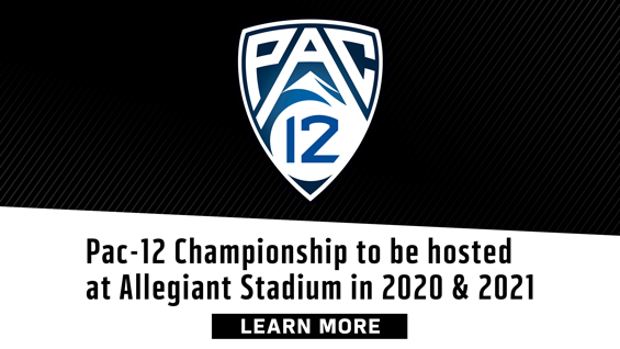Learn More about the Pac-12 Championship at Allegiant Stadium