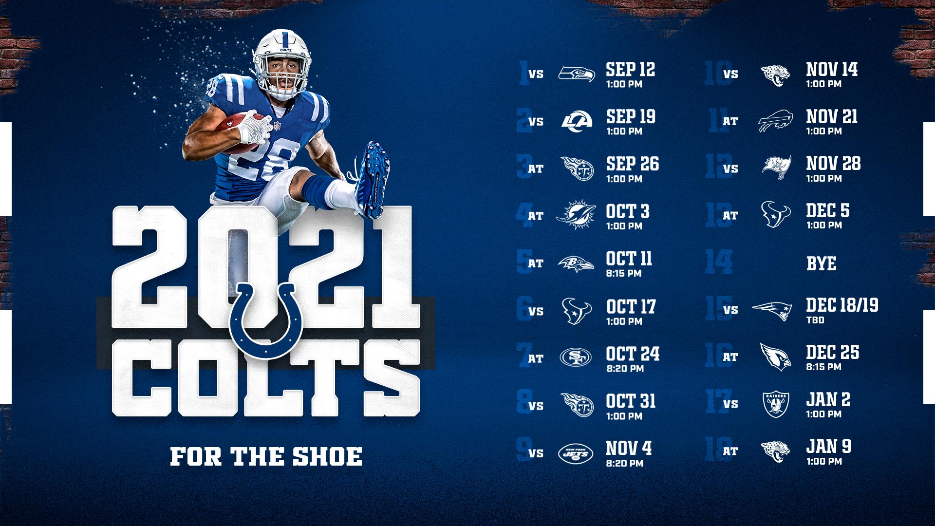 Colts Schedule | Indianapolis Colts - colts.com