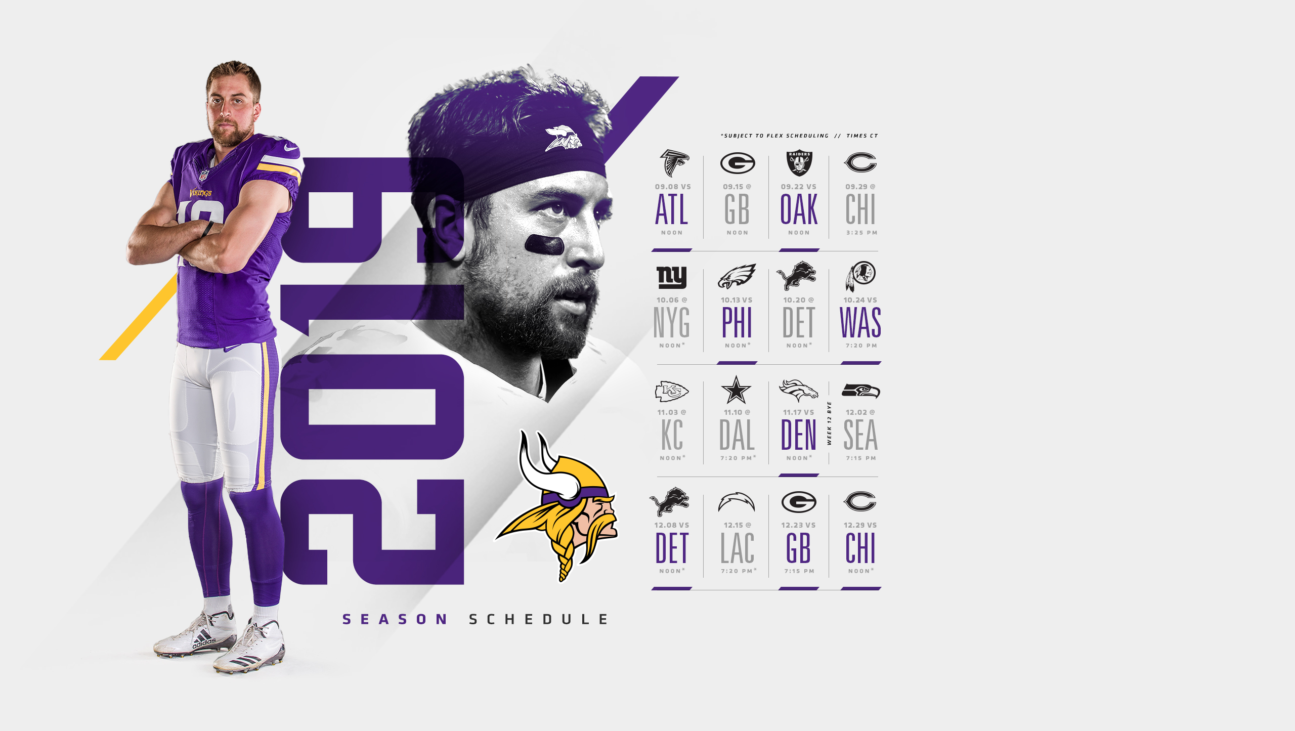Mn Vikings Schedule 2020.Desktop Wallpaper Official Website Of The Minnesota Vikings